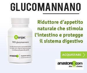 glucomannano proprietà