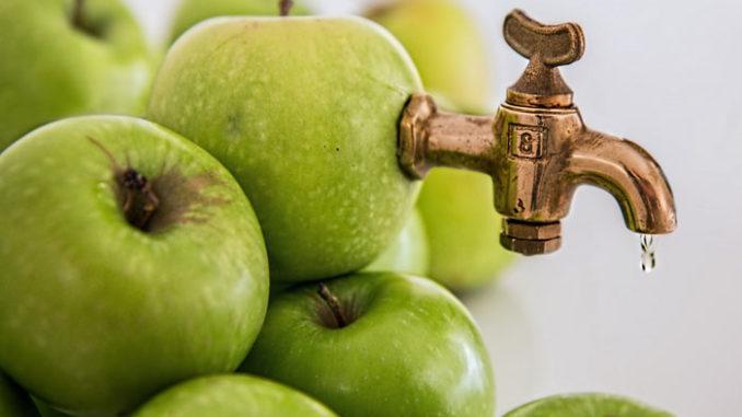 lavaggio epatico succo di mela